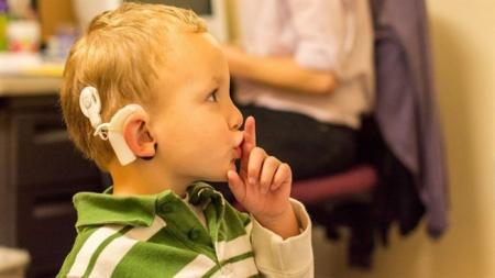 Deaf children ,English