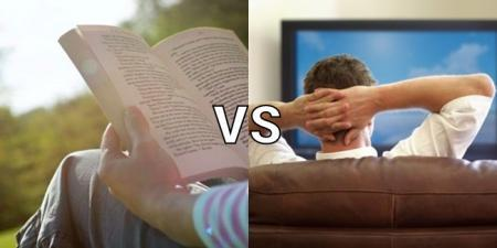 why reading is better than watching tv