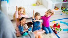 Children, play , work skills'
